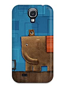 Aline Malka Design High Quality Humor Cartoon Cover Case With Excellent Style For Galaxy S4