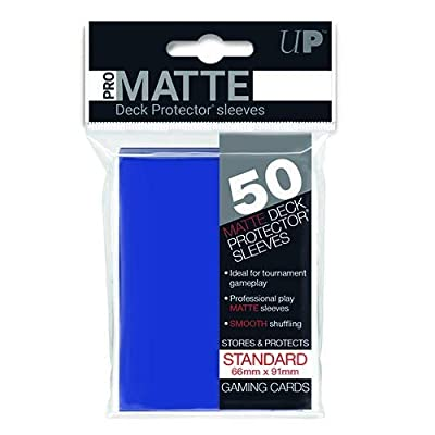 Ultra Pro Sleeves Pro-Matte Card Game (Blue): Toys & Games