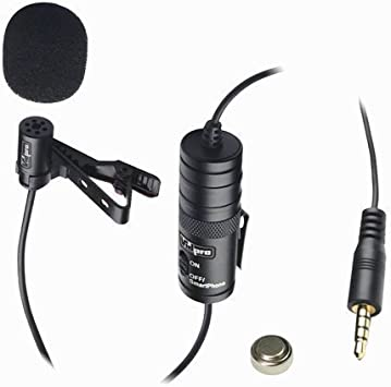 Samsung Galaxy Music Phone External Microphone Vidpro XM-L Lavalier Microphone