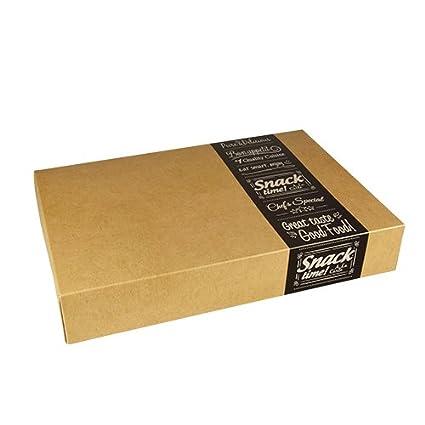 papstar scatole  Papstar 'Per Trasporti e catering di scatole di cartone Pure ...