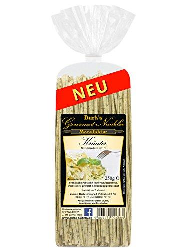 Burk's Gourmet Kräuter Bandnudeln lang, 4 mm (250 g)
