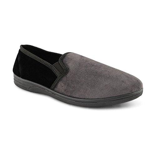 Footwear Sensation - Zapatillas Bajas hombre negro, gris