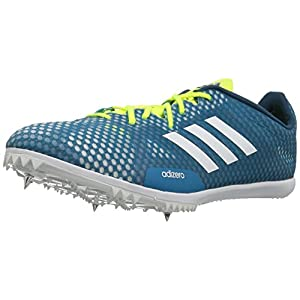 Adidas Men's Adizero Ambition 4 Running Shoe, Mystery Petrol/White/Petrol Night, 10 Medium US