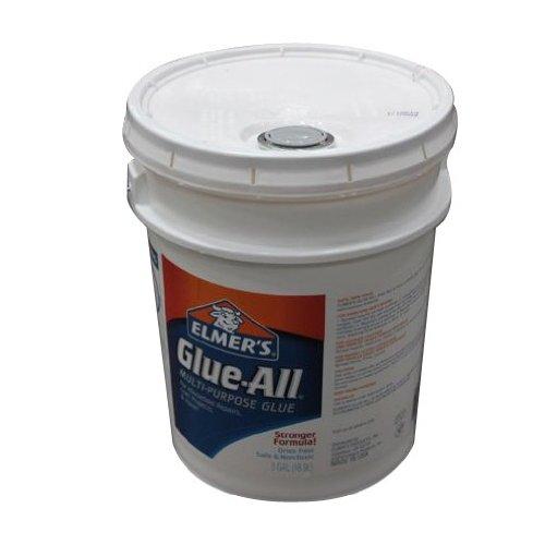 ELMERS Glue-All Multi-Purpose Glue, 5 Gallon Pail, White (E1325) by Elmer's
