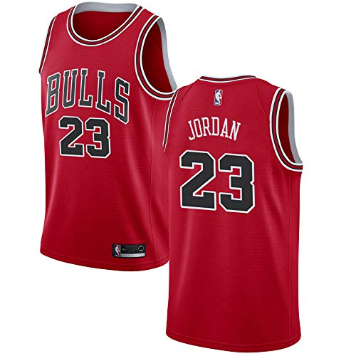f3e68cc0981f Chicago Bulls Swingman Men s Michael Jordan Jersey Red-Icon Edition (L)