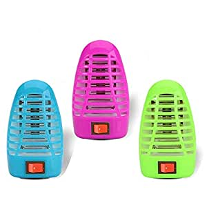 Bug Zapper Electronic Insect Killer,Mosquito Killer Lamp,Eliminates Most Flying Pests! Night Lamp (3PACK.)