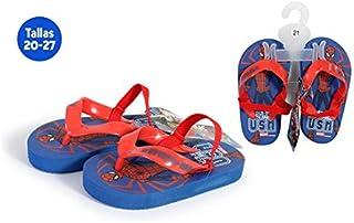 Chaussures Plage avec caoutchouc Spiderman bleu–Taille E2–Taille E2 IDEALCASA KIDS