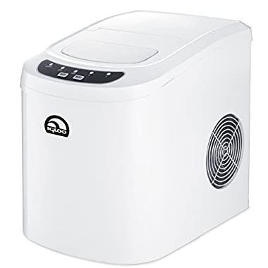 26 Lbs Counter Top Ice Maker, White