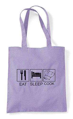 Bag Eat Hobby Chef Lavender Tiles Activity Funny Tote Hat Shopper Cook Sleep 7zfnxr7U