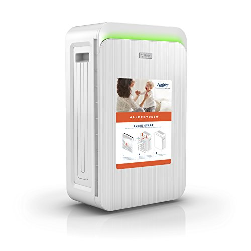 Aprilaire Allergy True HEPA Air Purifier with 3-Stage Filtration, Removes Allergens & Odors, Ozone Free
