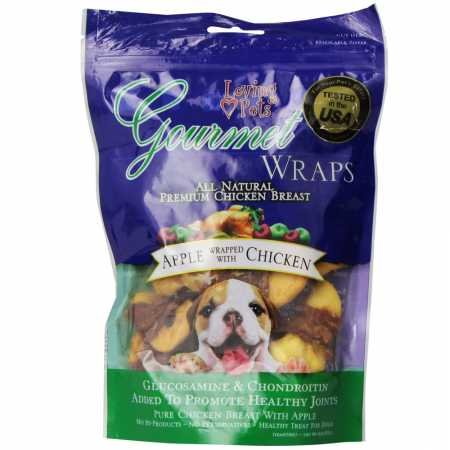 (Loving Pets Gourmet Apple Chicken Wrap (6 oz))