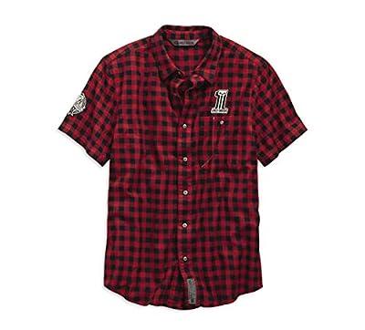 Harley-Davidson Men's Checked Plaid Slim Fit Shirt, Plaid