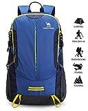 CAMELSPORTS Camel Hiking Backpack Travel Backpack Outdoor Backpack Lightweight & Durable(Blue)