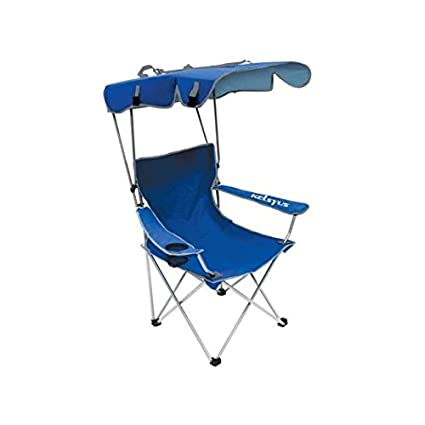 Superbe Oversize Folding Camping Chairs Heavy Duty With Canopy, Sun Shade, UV  Protection, Cup