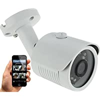HDView 4MP Megapixel HD IP Network Camera WDR 2.8mm Wide Angle Lens Motion Detection Wide Dynamic Range IR Cut Filter Infrared Bullet PoE ONVIF
