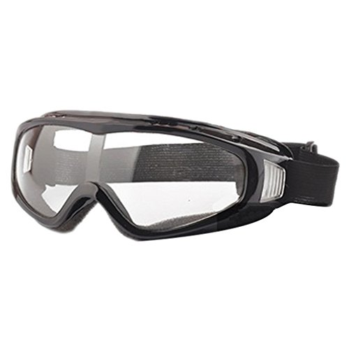 Bestmembering Airsoft Goggles Tactical Paintball Clear Glasses Wind Dust Protection Motorcycle