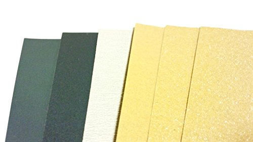 Review 6 Sheets Sandpaper for