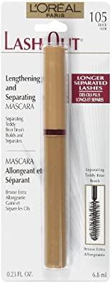 8132dc4153d Amazon.com : L'Oreal Paris Lash Out Mascara, Black, 0.23-Fluid Ounce : Loreal  Mascara : Beauty