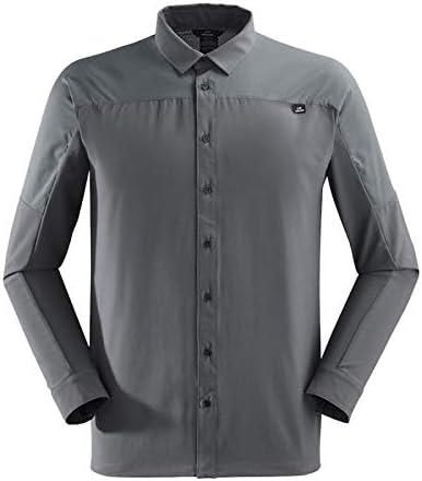 Eider Flex LS - Camisa de Senderismo para Hombre, Crest Black, Medium: Amazon.es: Deportes y aire libre
