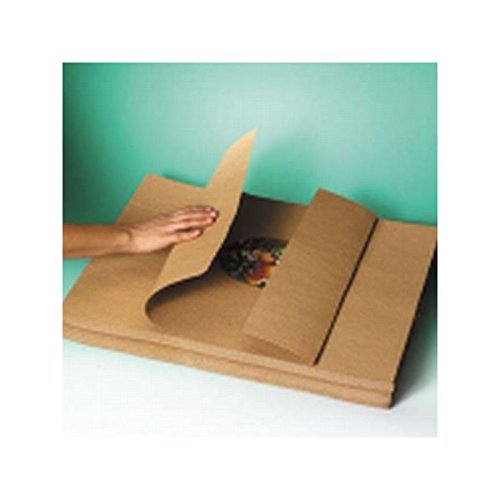 Indented Kraft Paper Sheets - Box Packaging Indented Kraft Paper Sheets, 60#, 24