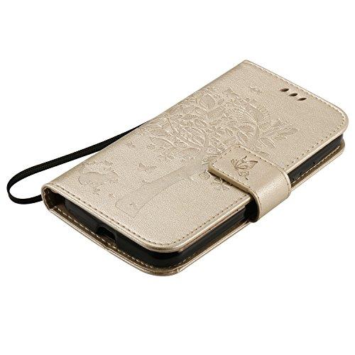 Chiusura G2 Per seconda Magnetica Lomogo Porta Generazione Carta Oro Albero G Motorola Con Portafoglio Pelle Cover Ekatu23947 Custodia Moto Di In Goffratura Credito EEq6aw