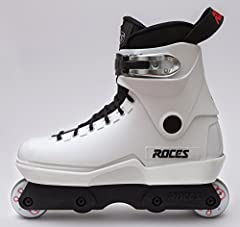 Roces considers aggressive skating as the most important component of the brand DNA and heritage, and so we are proud to bring you the M12 Lo White. Features Low cuff Harder PU Comfort liner Old school handle
