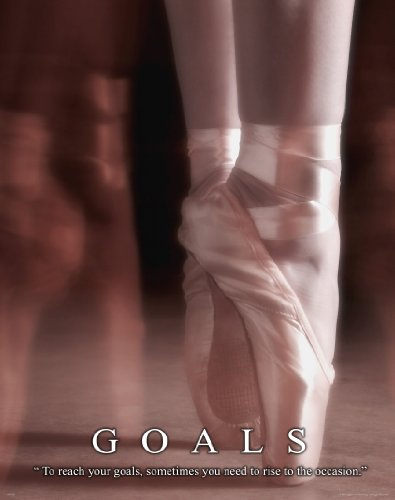 Ballet Dance Studio Ballerina Motivational Poster Art Print 11X14 Mvp254