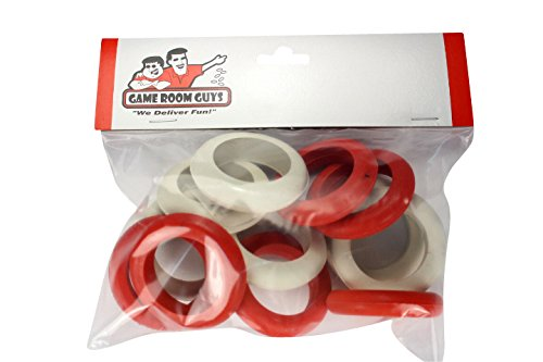 Game Room Guys One Set of Large Replacement Bumper Pool Rubber Rings