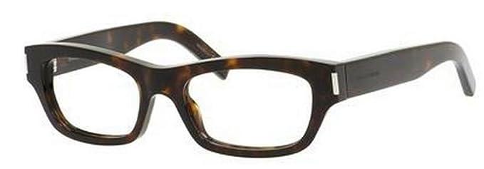 Amazon.com: Yves Saint Laurent YVES 3 eyeglasses-0086 Dark ...