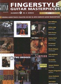 Acoustic Guitar Songbook 5: Fingerstyle Guitar - Magazine Guitar Fingerstyle