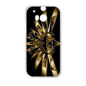 DAZHAHUI Shinign Golden Logo Hot Seller Stylish Hard Case For HTC One M8