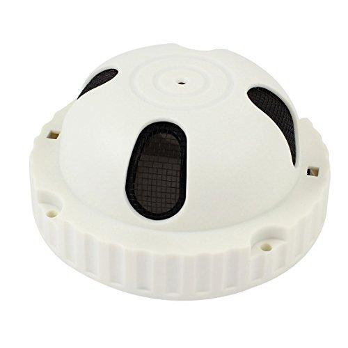 Amazon.com: eDealMax Inicio de plástico Blanco de Humo caso de la red de Vivienda Detetcor 4.3 Dia: Electronics