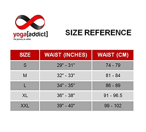 YogaAddict Men Yoga Shorts, Comfortable Pants, for Any Yoga, Pilates, Outdoor, Gym, Fitness, Workout