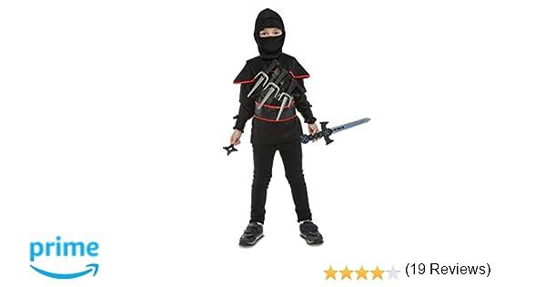 My Other Me Me-204147 Disfraz Yo quiero ser ninja, 3-5 años (Viving Costumes 204147