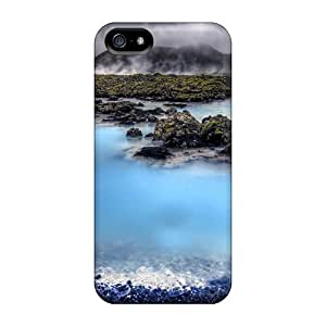 Awesome Icel Lscape I Blue Lagoon Hdr Flip Case With Fashion Design For Iphone 5/5s by lolosakes