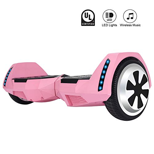 CXM2018 Bluetooth Enabled 6.5 inch Self Balancing Hoverboard...