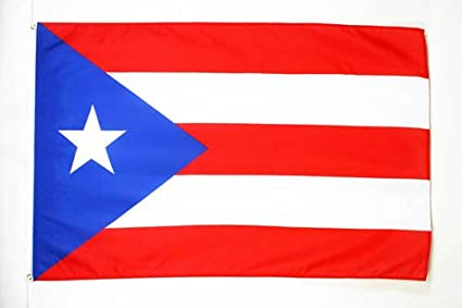colores de la bandera original de puerto rico