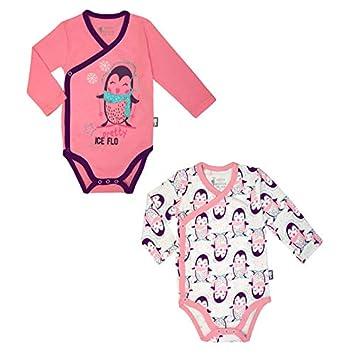 Lot de 2 bodies manches longues bébé fille Pretty Ice - Taille - 6 mois ( a6ff21c16f1