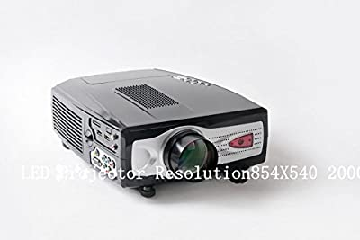 GOWE LED Projector Resolution854X540 2000lumens 800:1 16: 9 and 4:3 20000hours
