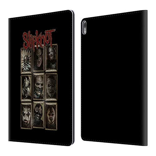 Official Slipknot Masks Key Art Leather Book Wallet Case Cover Compatible for iPad Pro 12.9 (2018)]()