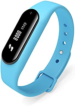 Gosund C6 Waterproof Fitness Activity Tracker Pedometer (Blue)