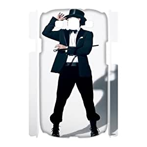 Hjqi - Custom Justin Timberlake 3D Phone Case, Justin Timberlake Personalized Case for Samsung Galaxy S3 I9300