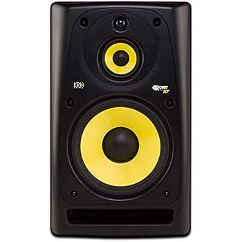 krk rokit rp10 3 mid field 10 inch 3 way powered studio monitor musical instruments. Black Bedroom Furniture Sets. Home Design Ideas