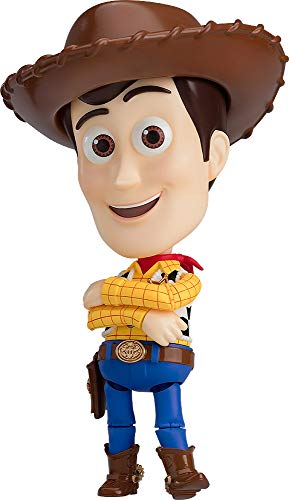 Good Smile Toy Story: Woody Deluxe Nendoroid Action Figure, Multicolor