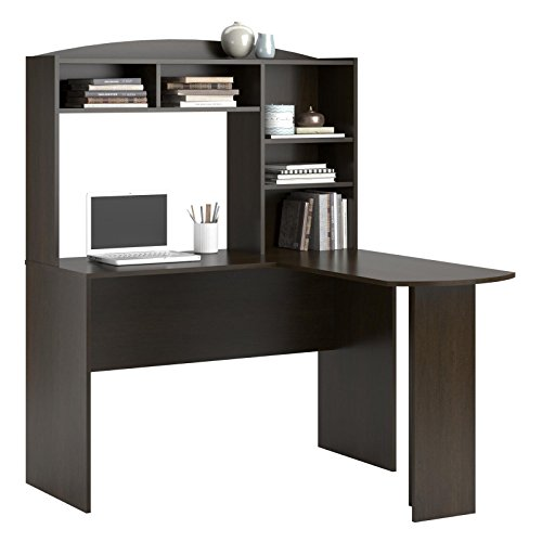 Altra Dakota L Shaped Desk With Bookshelves