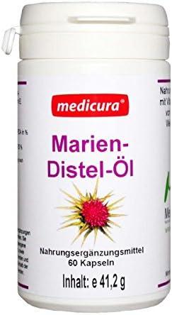 Medicura Mariendistelöl 60 Kapseln - 41.2g