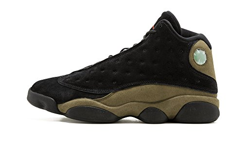 Jordan Air 13 Retro Olive Men Lifestyle Retro Basketball Casual Shoes - 9.5