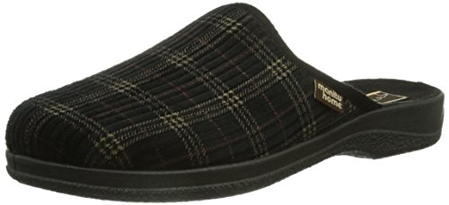 Manitu mens house shoe Black Black ppeH9cZ