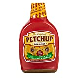 Petchup Natural Dog Gravy | High Protein, Gluten Free and Grain Free Dog Food Topper with Glucosamine and Beef Bone Broth for Dogs | Promotes Dog Joint Health and Strong Immunity | Beef Flavor