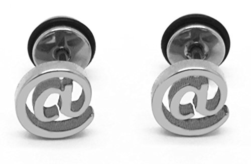 Chelsea Jewelry Basic Collections @ Shaped Stud Screw-back Earrings